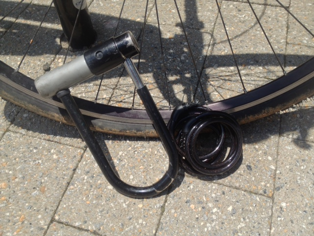 Raleigh bike lock