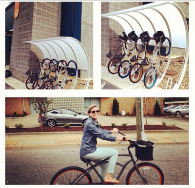 Centerline Employee Emily Gamiel Takes a Bike for Spin