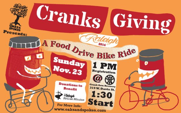 Cranksgiving Raleigh 2014!