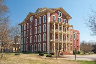 photo of Estey Hall on Shaw University's campus