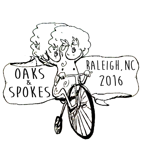Davon Bruno's winning entry for the Oaks and Spokes 2016 design contest